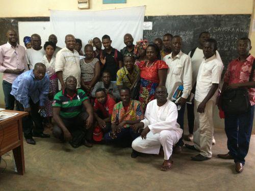 Mentor Training Held in Congo